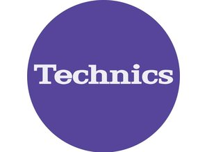 Technics Logo Lila slipmatten van Slipmat Factory