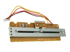 Refurbished Complete Pitch Fader Unit + PCB voor Technics SL1200 / SL1210 MK2