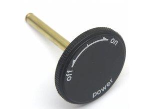 Aan / Uit knop voor Technics SL1200 of SL1210 MK2 (Reproductie)