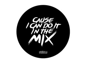 "Ortofon ""CAUSE I CAN DO IT IN THE MIX"" slipmat set"