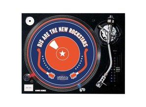 "Ortofon ""DJs ARE THE NEW ROCKSTARS"" slipmat set"