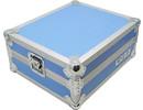 Platenspeler Flightcase T-1 (blauw)