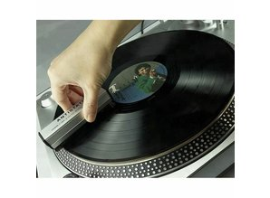 Goka Carbon & Velours Vinyl Platenborstel