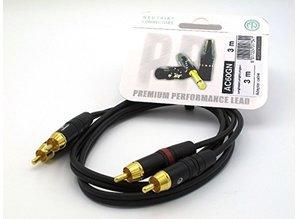 Inco X-lead RCA kabel, 2x tulp naar 2x tulp  (3m)