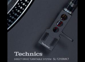 Technics Headshell (zwart) voor de nieuwe SL-1210 MK7 platenspeler