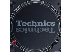 Technics Slipmat for the new SL-1210 MK7 turntable