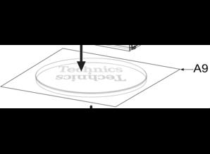 Technics Slipmat voor de nieuwe SL-1210 MK7 platenspeler