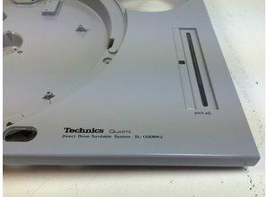 Licht Grijze Behuizing voor Technics SL-1200 (of SL-1210) MK2