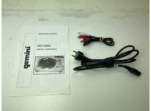 Gemini PDT-6000 direct drive platenspeler
