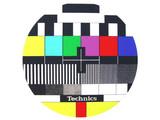 Technics TV slipmatten