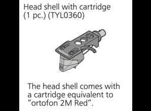 Ortofon 2M Red hi-fi cartridge on Technics 1500C Headshell