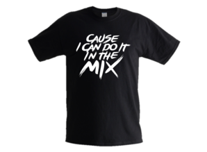 Exclusief logo design: 'Cause I can do it in the MIX'