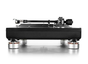 Refurbished Set of 4 Audio Isolation System Feet for all Technics SL1200 / SL1210 (silver)
