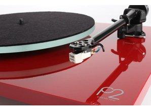 Rega Planar 2 Hi-fi turntable (Red) - Showroom Model