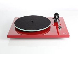 Rega Planar 2 Hi-fi Platenspeler (Rood) - Showroom Model