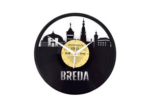 Vinylklok met Bredase landmarks