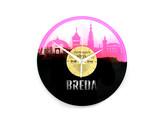 Breda Vinyl Klok (Limited Roze)