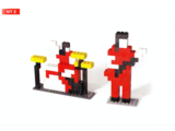 White Stripes Lego Kit 2
