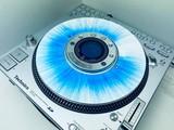 SL-DZ1200 Slip Disc White / Blue Splatter