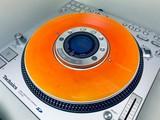 SL-DZ1200 Slip Disc Clear Orange Flame