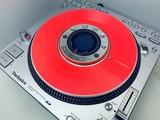 SL-DZ1200 Slip Disc Clear Neon Orange