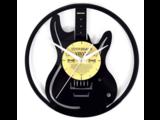 Guitar Vinyl Clock