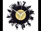 Bandleden Vinyl Klok