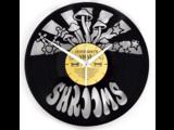 Shrooms Vinyl Clock
