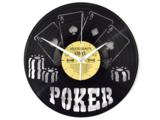 Poker Vinyl Klok