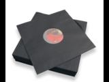 "LP / 12"" binnenhoezen (zwart)"