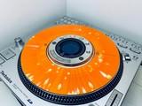 SL-DZ1200 Slip Disc Orange / White Splatter