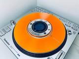SL-DZ1200 Slip Disc Clear Orange