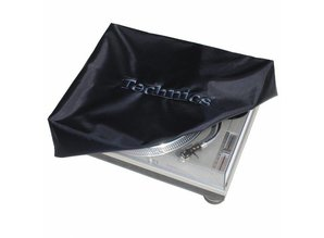 Black/Black Deck Cover for Technics SL1200 or similar size turntable