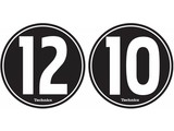 Technics '12-10' Slipmatten