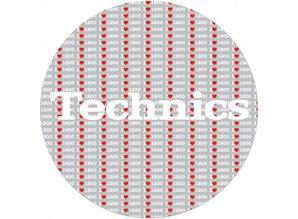 Technics 1200 Love Slipmats, proffessional quality by Magma