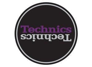 Technics Mirror Purple on Black slipmatten, professionele kwaliteit van Magma