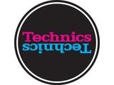 Technics Mirror Purple/Blue on Black Slipmats