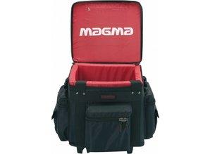 Zwarte (rode binnenkant) LP-Bag 100 Trolley van Magma