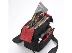 Zwarte (met rode binnenkant) LP-Bag 40 II van Magma