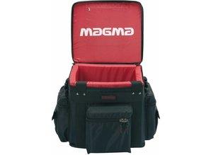 Zwarte (met rode binnenkant) LP-Bag Profi 100 van Magma