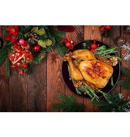Kerstkip  - Keuze uit kerstkip(pen) en/of gourmetpakket