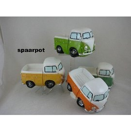 Spaarpot Volkswagen pick up bus