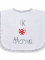 Slabbetje ik hou van mama