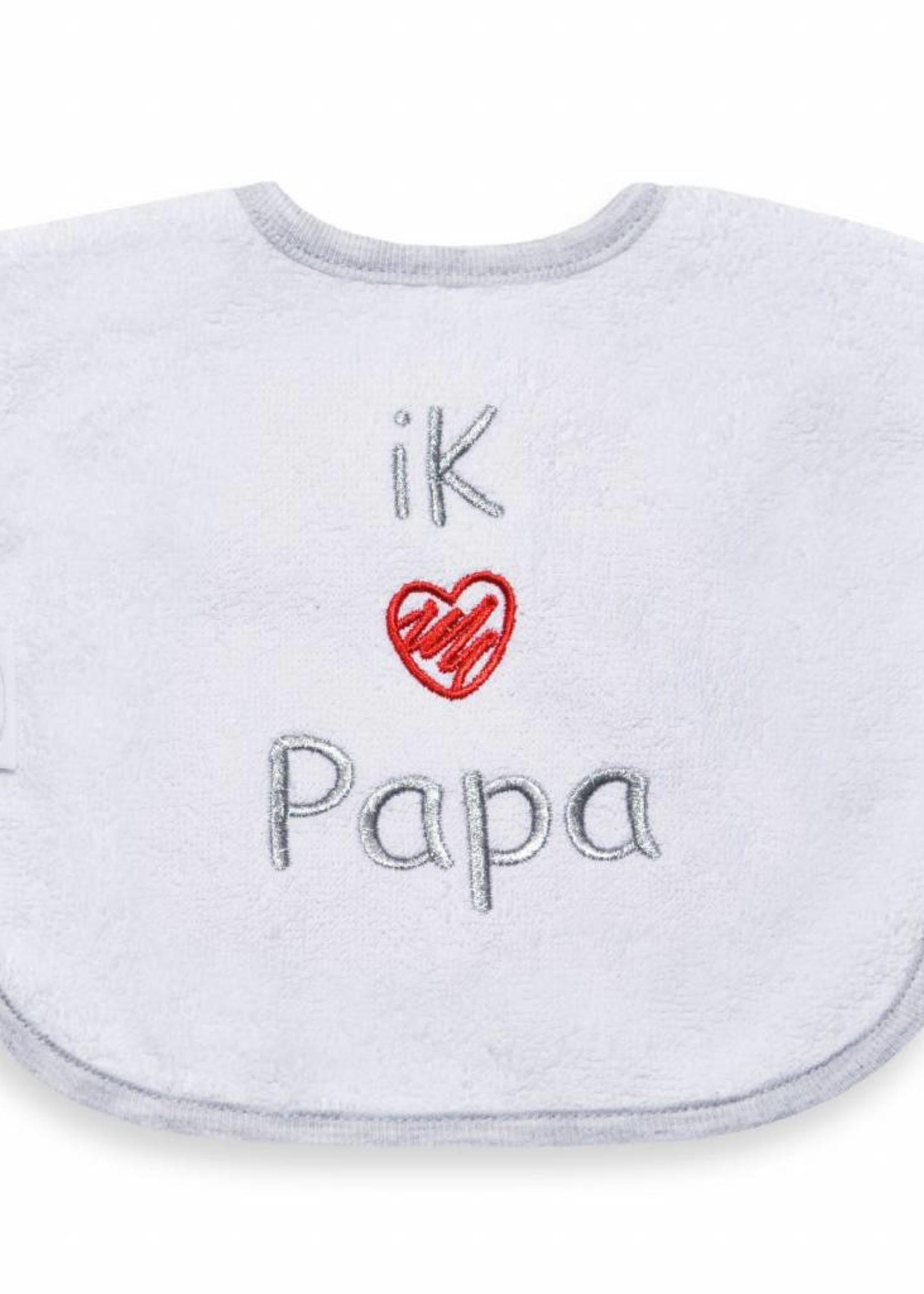 Slabbetje ik hou van papa