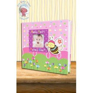 Babyalbum bijtje roze