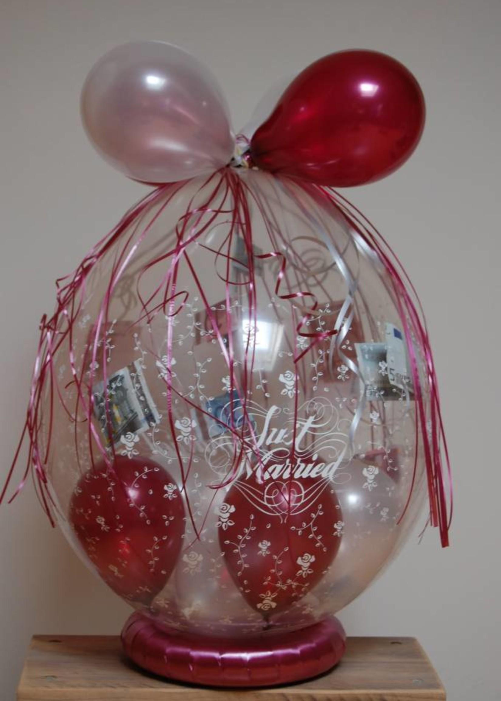 Inpakballon huwelijk