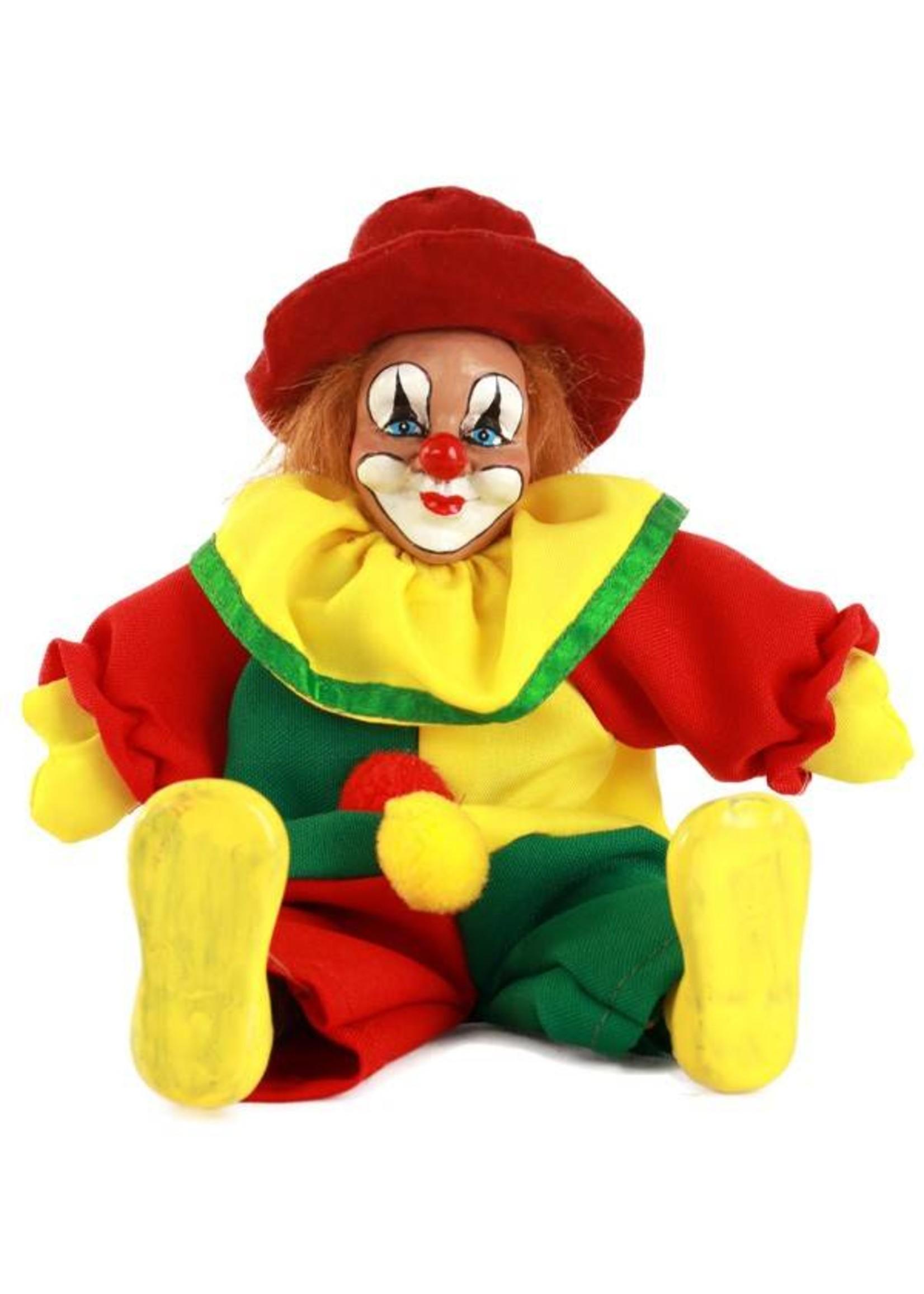 Clownspop met hoed