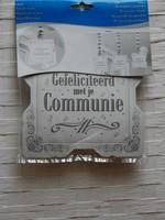 Hangdecoratie gefeliciteerd met je communie