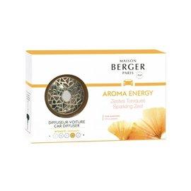 Lampe Berger Autoparfum - AROMA Energy Zestes Toniques