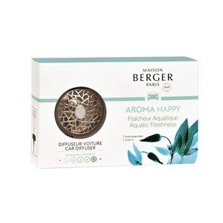 Lampe Berger Autoparfum - AROMA Happy Fraîcheur Aquatique